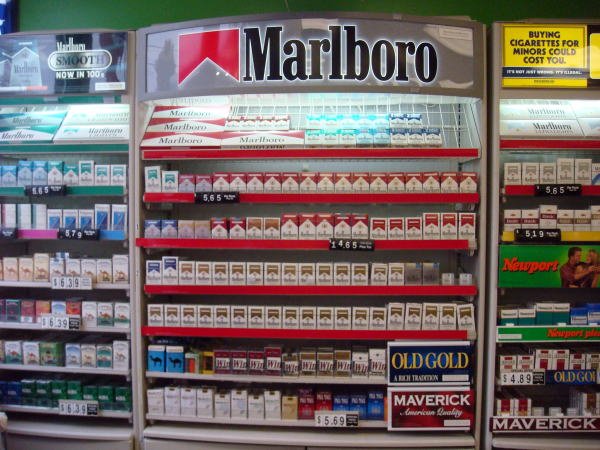 Much does cigarettes Sobranie cost